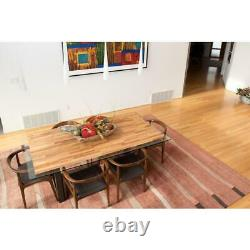 Unfinished Butcher Block Wood Kitchen Island Countertop Table Top 1.5x39x74 Inch