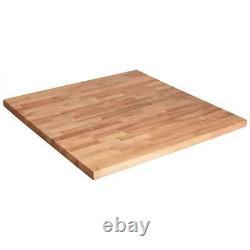 Unfinished birch 3 ft. L x 36 in. D x 1.5 in. T butcher block countertop