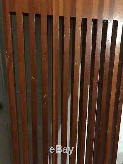 VTG Mid Century Wood Slat Bench Table Top Yugoslavia 71x17x1.5 Butcher Block