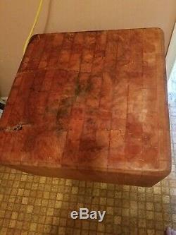 Vintage Authentic Butcher Block