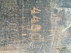 Vintage Butcher Block John Boos 35.5 X 30.25 X 14.5 29.25 Tall 4/1948 Mobile Al
