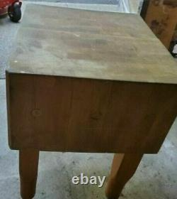 Vintage, Professional Large Butcher Block VERY HEAVY GREAT CONDITION