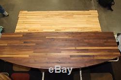 Walnut Butcher Block Wood Island Top kitchen Counter Top (1.5 x 26 x 50)