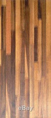 Walnut butcherblock wood countertop island bench 72 × 25 x 1.25