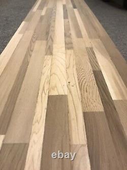 Wood Butcher Block Kitchen Countertop 48x12x3/4 Cutting Board Unfinished