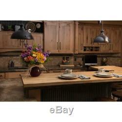 Wood Butcher Block Kitchen Countertop 50 x 25 x 1.5 Cutting Board Unfinished NEW
