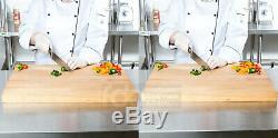 2 Pack 24 X 18 X 1 3/4 Lame En Bois Commerce Restaurant Coupe Butcher Block