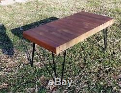 31+ X 14+ X 2+ Table Basse En Bois De Comptoir De Restaurant Antique En Bois