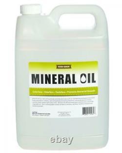 5 Pack De 1 Gallon 100% Pure Food Grade Mineral Oil Usp Safe Butcher 5 Gal Total