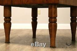 Antique Butcher Block Table Américaine
