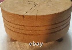 Antique Primitive Tuk-away 8 #4 Bread Cutting Board Butcher Block Brenham Tx