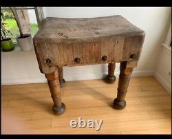 Bâton De Boucher Antique Table Boston Ma Primitive Farmhouse Furniture Decor