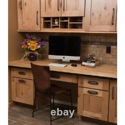 Bloc Boucher Comptoir Unfinished Birch Solid Wood Antimicrobial Sideboard