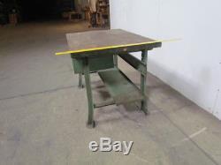 Bloc De Boucher 48x34 Dessus En Bois Table De Travail Industrielle Îlot De Cuisine