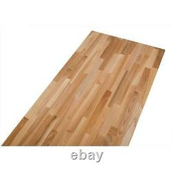 Bloc De Boucher En Bois Countertop Solid Wood Work Bench Shelf Table Top Kitchen
