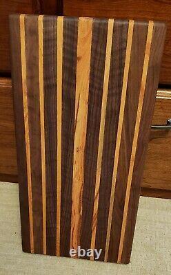 Bloc De Boucherie De Coupe De Bois De Grain Extra Large Bord 21 X 11 X1.5