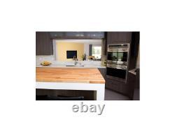 Bois Butcher Block Table Île Cuisine Countertop Unfinished Européenne Birch