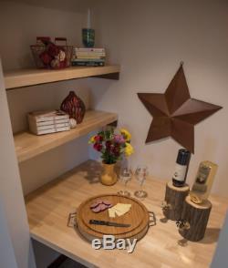 Bois Butcher Block Unfinished Bouleau Cuisine Countertop Surface De Travail Contre Bureau
