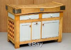 Bouchers Vintage Rushbrooke Albion Bloc Table Sur Nouvelle Cuisine Armoire