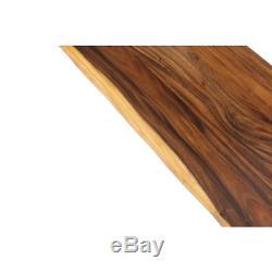 Butcher Block 4' Countertop L X P X 2'1 1,5 Gros Acacia Edge Huilée En Direct