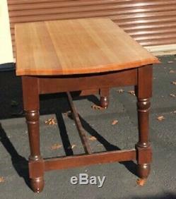 Butcher Block Island Kitchen Table 36 Large 66 36 Long Haut
