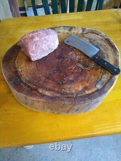 Butcher Block Solid White Oak End Grain Cross Section