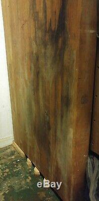 Butcherblock Bouchers Tableau Complet Taille Slab 3-7 / 8 D'épaisseur, 32 De Large, 86 De Long