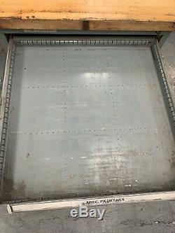 Cabinet Stanley Vidmar Rangementplomberie Avec Top En Bois Butcher Block (32 X 30 X 35)