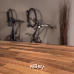 Comptoir En Blocs De Boucher En Meubles De Style Rustique En Bois Massif Non Finis