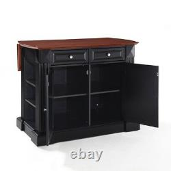 Coventry Drop Leaf Breakfast Bar Top Kitchen Island Finition
