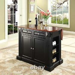 Crosley Furniture Coventry Noir Abattants Petit Déjeuner Bar Top Noir