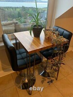 Cuisine Breakfast Bar Chaises À Manger Meubles Handmade Industrial Hairpin Table
