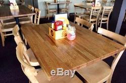 Dessus De Bloc De Restaurant 1-1 / 2x36x72 Pour Restaurant Forever Joint Red Oak Butcher Block