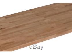 En Bois Massif Butcher Block 50 X 25 Countertop X 1.5 Planche À Découper Unfinished Birch