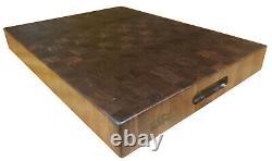 End Grain Black Walnut Butcher Block Cutting Board Nouveau