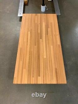 Forever Joint Red Oak Butcher Block Wooden Bar Top 1.5 X 18 X Tailles Personnalisées