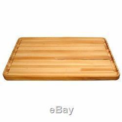Grand Bois Planche À Découper 20x30 Butcher Block Planche À Découper Accessoires De Cuisine