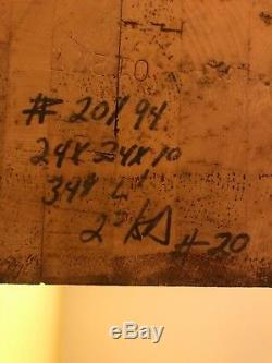 John Boos Aa02 Bloc De Boucher Érable 24 X 24 Aa