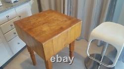 John Boos Boucherbloc Table De Travail Érable Naturel