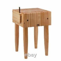 John Boos Butcher Block Table 24 X 18 X 10
