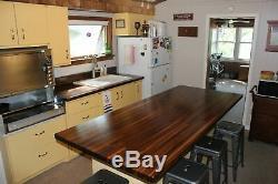 Joint Pour Toujours Walnut Butcher Block Kitchen Island Top -1.5 X 36 X Tailles Sur Mesure