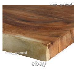 New Saman Live Edge Acacia 4 Pi X 18 Po Butcher Block Bar Countertop Exotic Wood