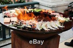 Ofyr Île 100-100 Avec Butcher Block Et Stockage (style De Cuisine Identique Arteflame)