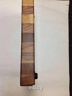 Planche À Découper En Bloc De Noyer Noir, Nouvelle Extrémité, Grain 16 X 20