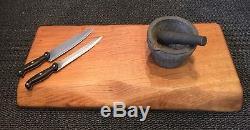 Planche À Découper En Chêne James Martin Large Heavy Boucherie Block Cuisine 3 Pouces D'épaisseur
