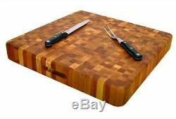 Planche À Découper Extra Large 20 X 20 Butcher Block Fin Grain Bouleau Slab Cuisine