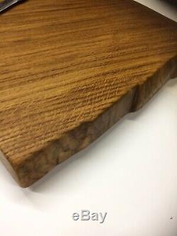 Planche À Découper Style James Martin Solide Oak Boucherie Lourde Cuisine De Bloc