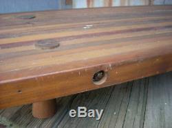 Planches À Pain Antiques En Bois Primitif Avec Tablier En Bois Pour Boucher Large 36 X 18 X 6h