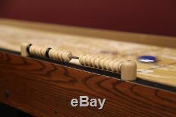 Shuffleboard Table Arcade Jeu Bloc De Boucher Solide En Bois Rétro Vintage Pub Score