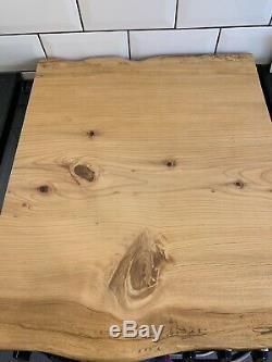 Solid Cedar James Martin Style Planche À Découper Lourd Bouchers Cuisine Bloc